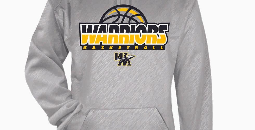 Watkins Youth Basketball Grey Poly Hood