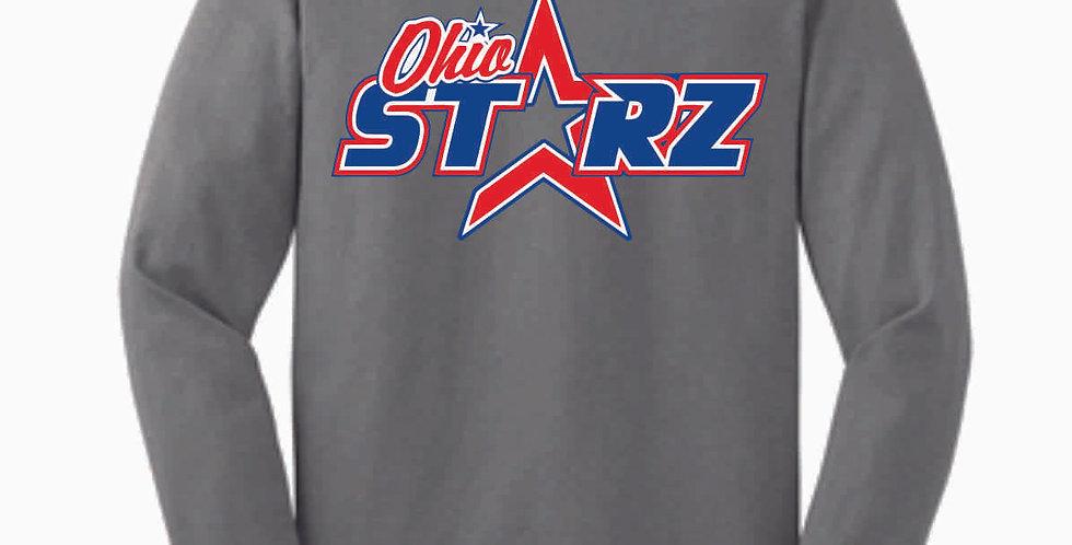 Ohio Starz Original Grey Cotton Longsleeve