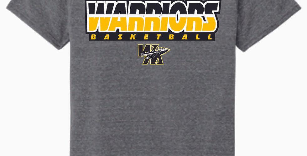 Watkins Youth Basketbll Grey Soft T Shirt
