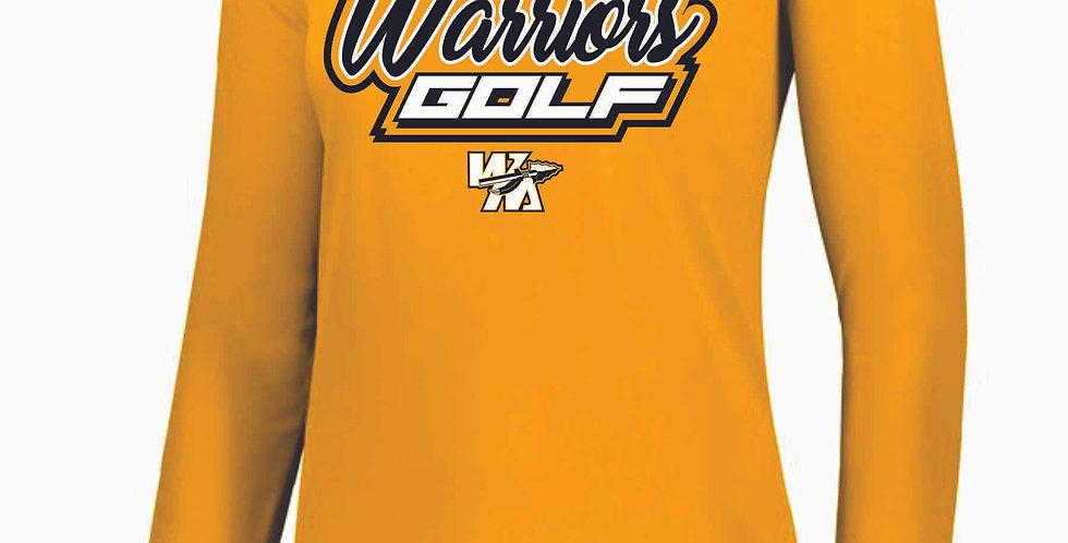 Watkins Golf Gold Dri Fit Longsleeve