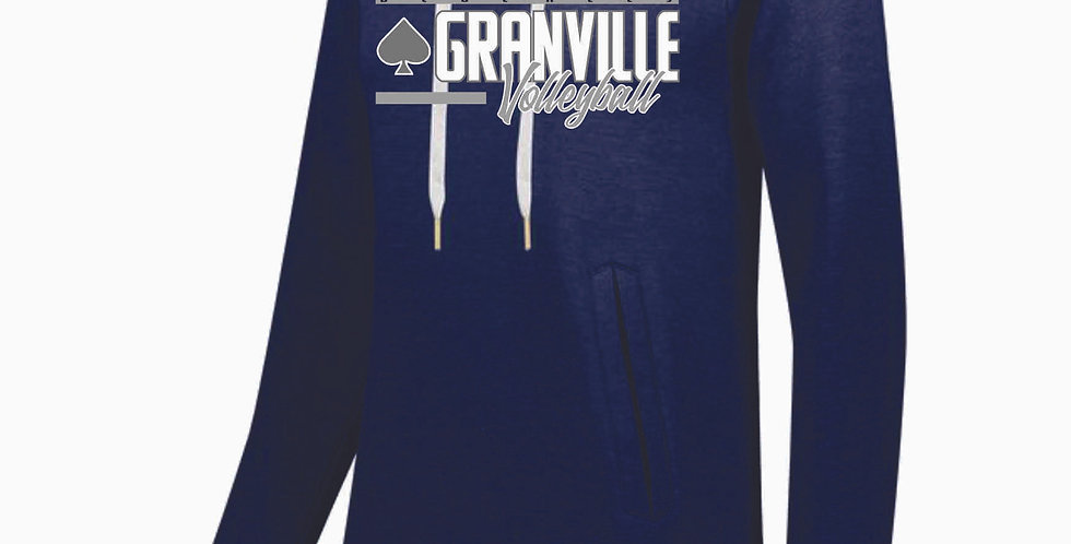 Granville Volleyball Navy Ladies Hoody