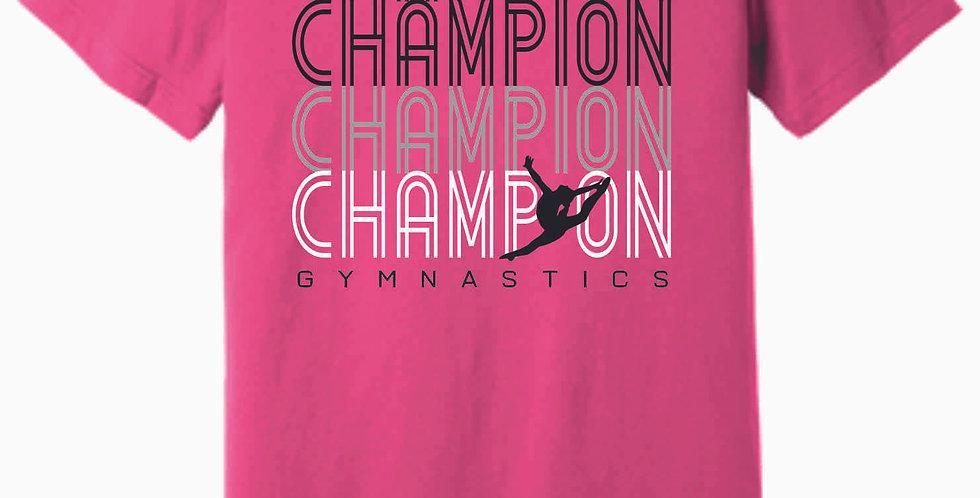 Champion Gymnastics Pink Soft T