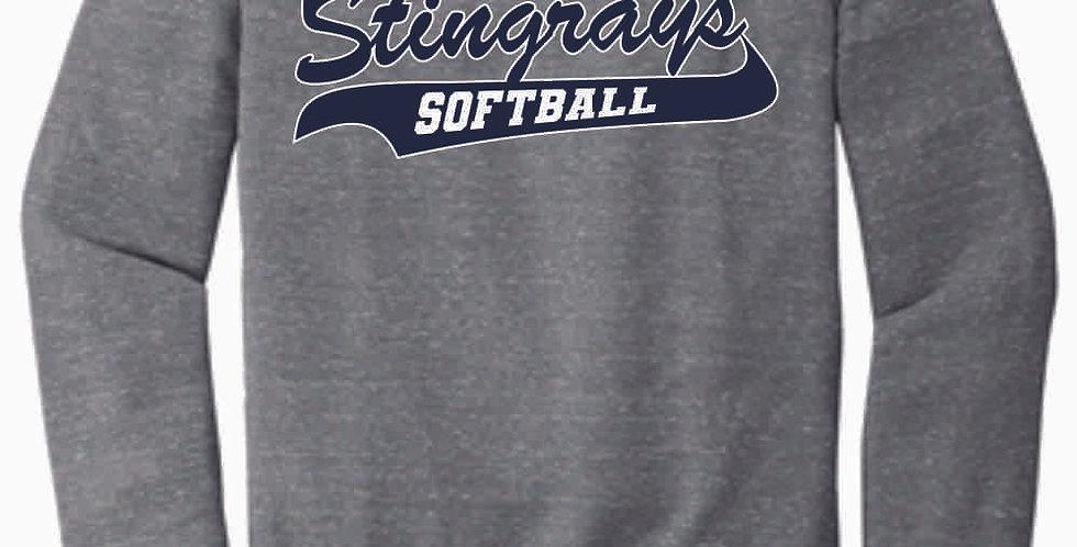 Stingrays Grey Soft Crewneck