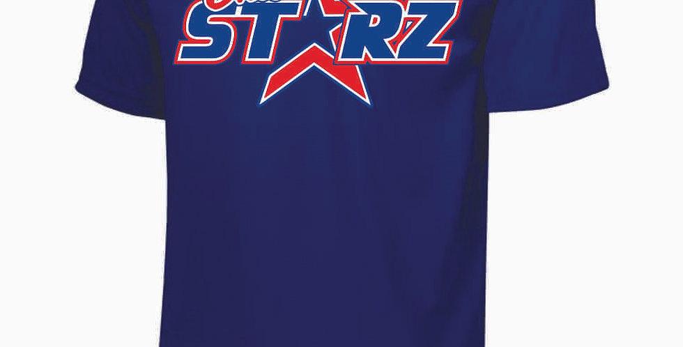Ohio Starz Royal Logo Dri Fit Shortsleeve