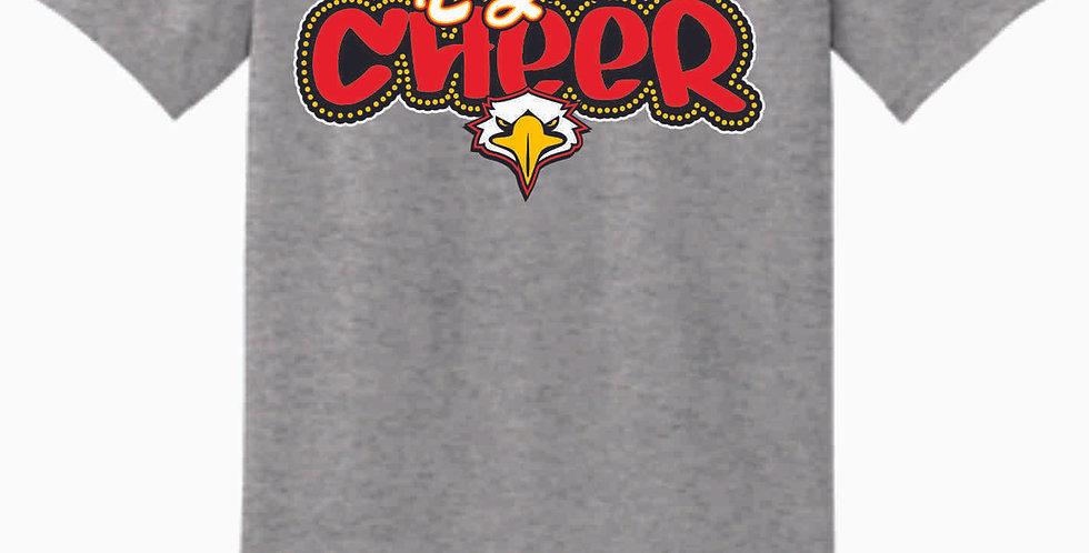 LCCA Grey Cheer Cotton T Shirt