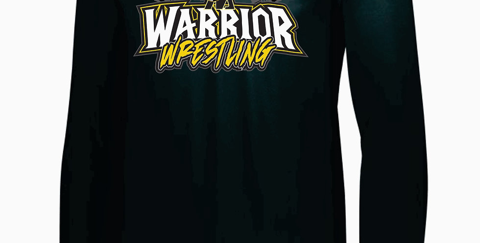 Watkins Youth Wrestling Simple Black Dri Fit Longsleeve