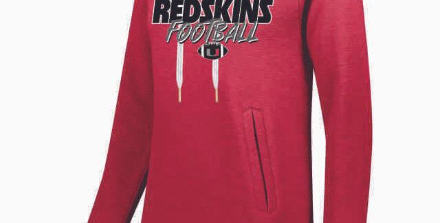 Utica Football Red Ladies Hoody