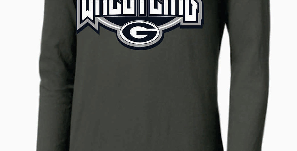 GHS Wrestling Grey Nike Core Cotton Long Sleeve