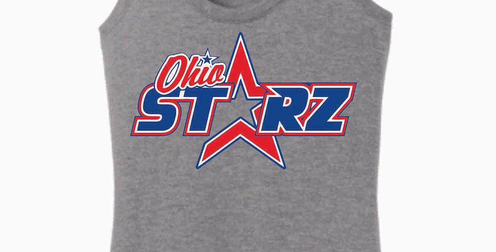 Ohio Starz Grey Logo Women's Tank