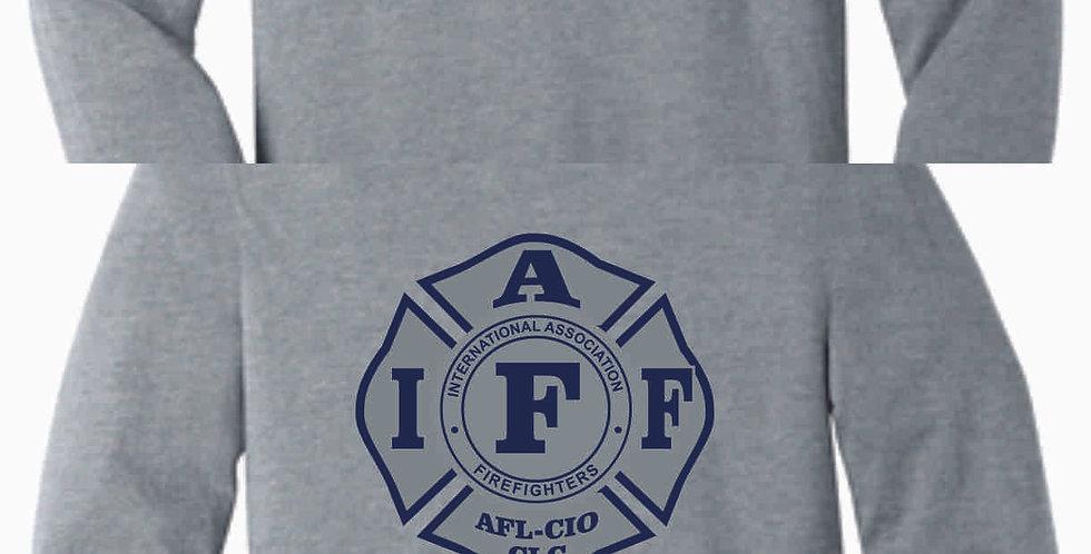 Berlin Township Fire Soft Grey Longsleeve
