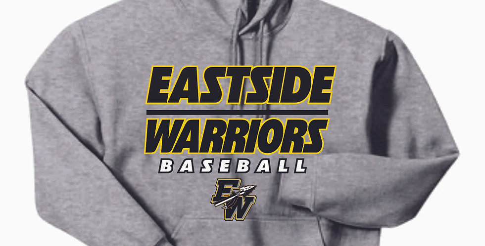Eastside Warriors Cotton Grey Hoody