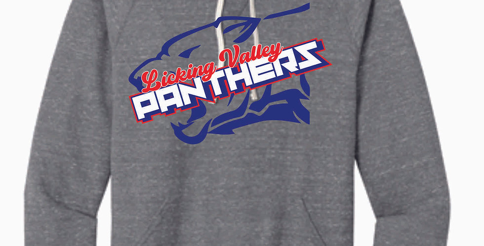 Licking Valley Grey Panther Head Soft Hoody