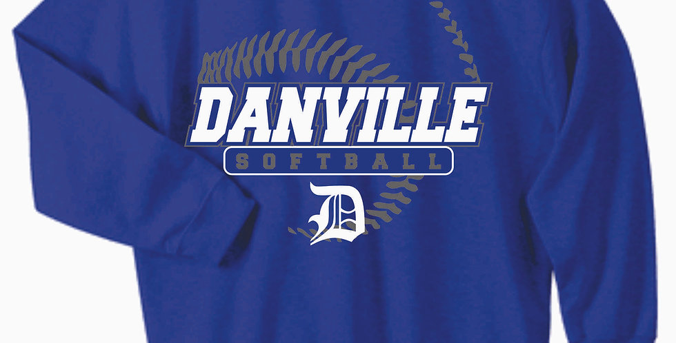 Danville Softball Cotton Royal Crew