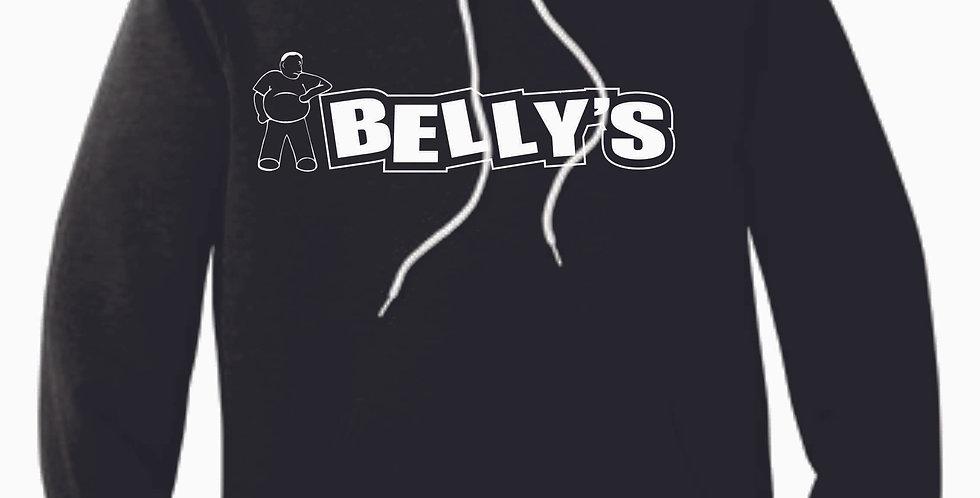 Belly's Black Heather Soft Hooded Sweatshirt