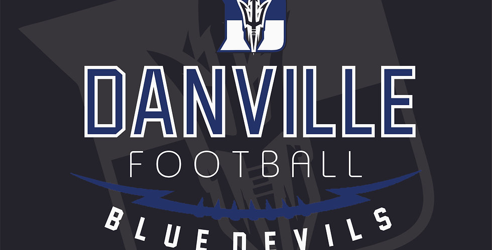 Danville Football Blanket