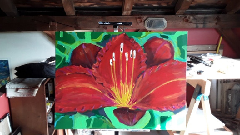 """""""Red Lilly"""""""