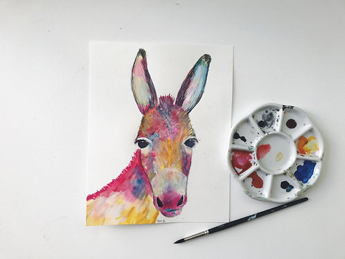 Donkey of a Different Color