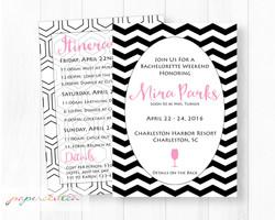 Batchlorette Party Invitation