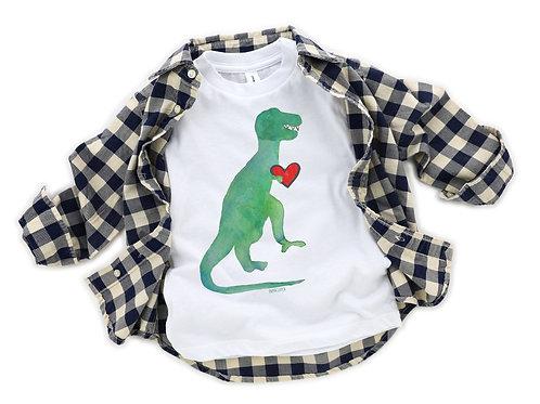 T Rex Valentines Day T Shirt
