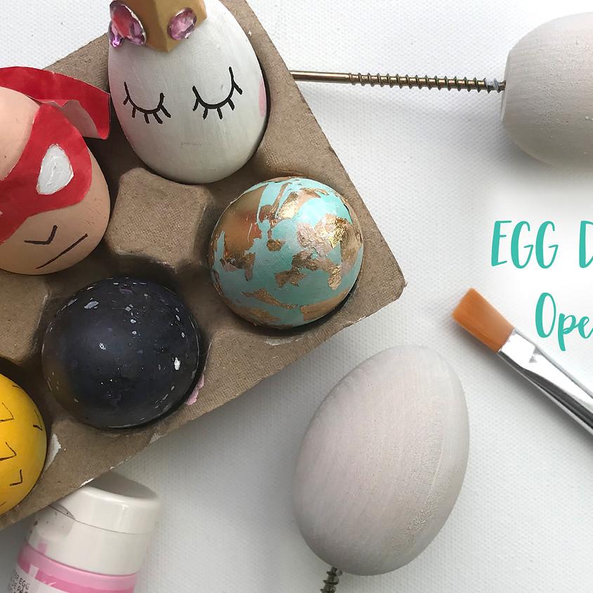 open studio | egg decorating