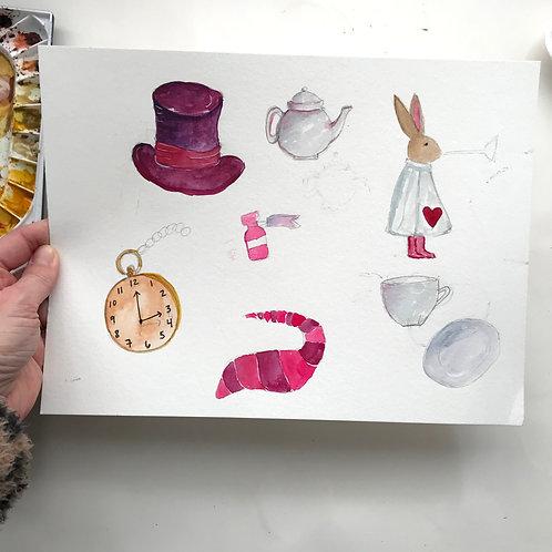 Wonderland Sketches