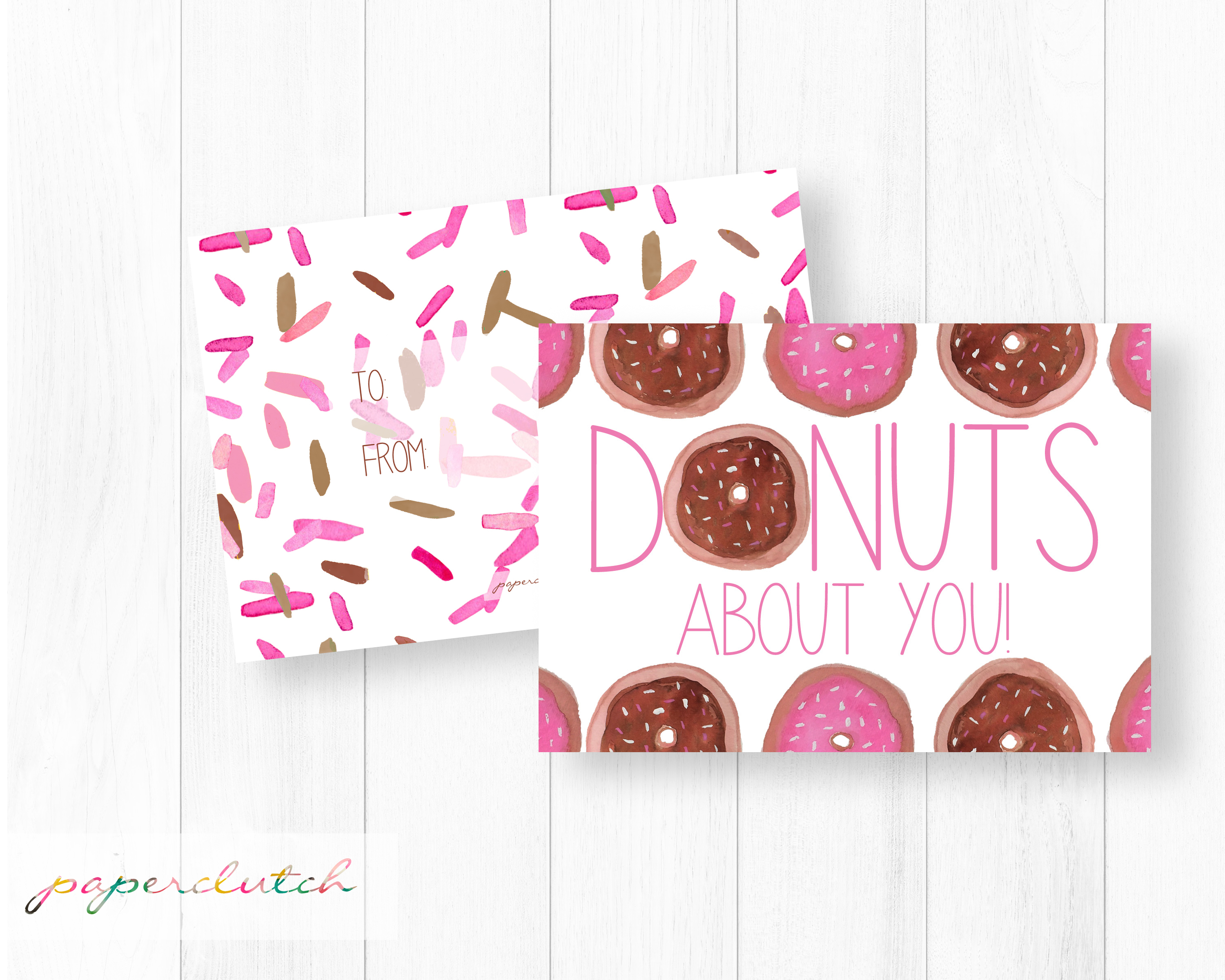 Donuts About You Valentine
