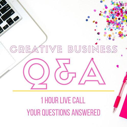 Creative Business Q & A