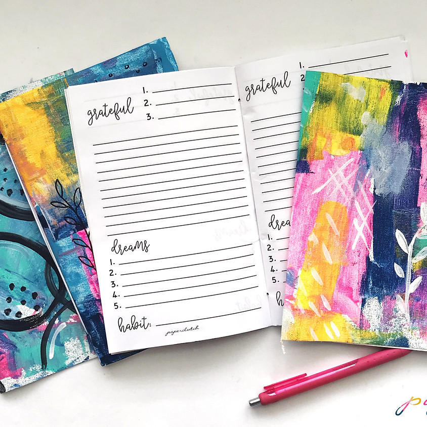 Creative Journal Craft Party
