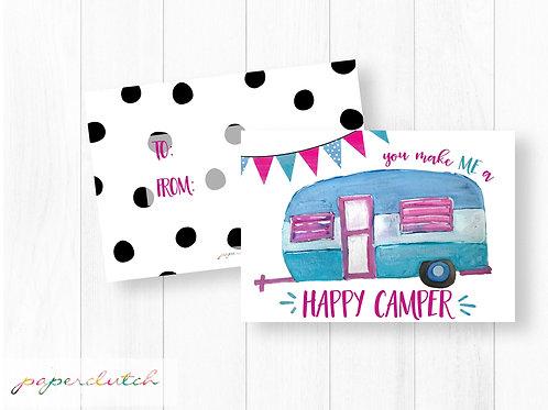 Happy Camper Valentine