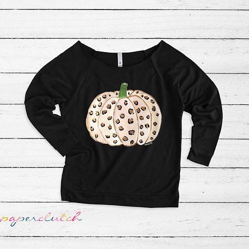 Leopard Pumpkin Shirt