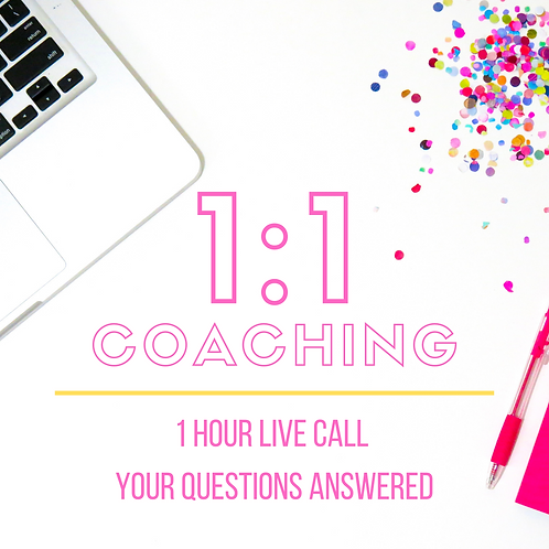1:1 Coaching Call