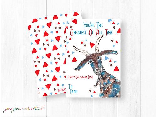 GOAT Valentine Instant Download