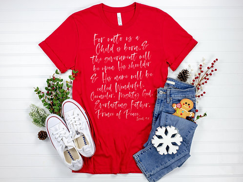 Christmas Shirt For Kids