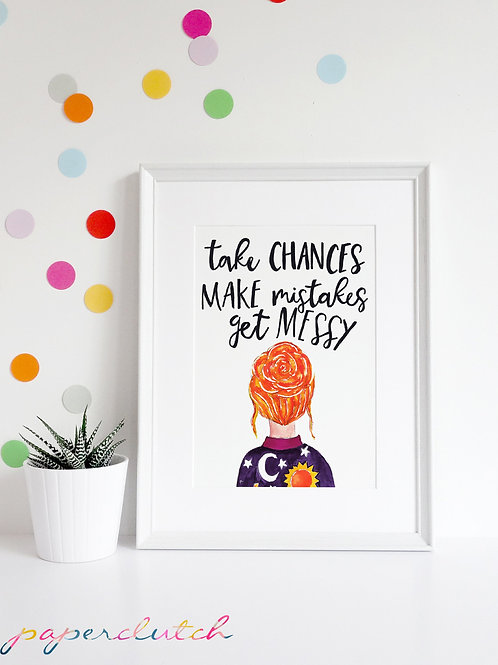 Ms Frizzle Quote Magic School Bus Wall D�cor