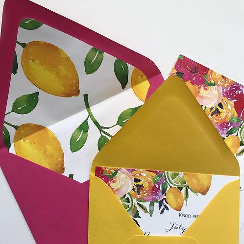 Lemon Notecards