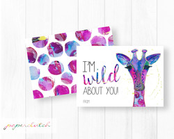 Wild About You Valentines