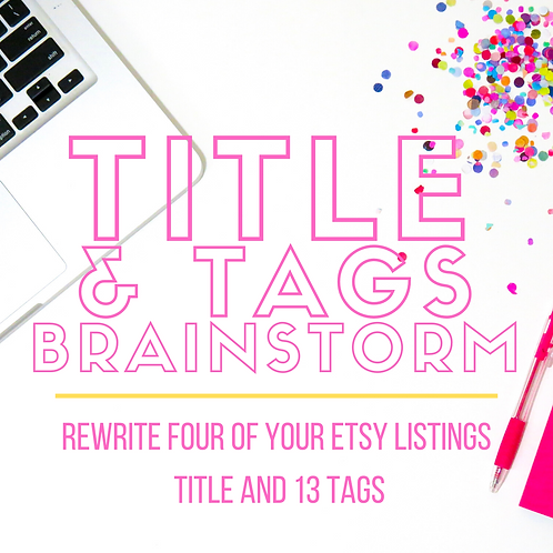 Title and Tag Brainstorm- Ambassador
