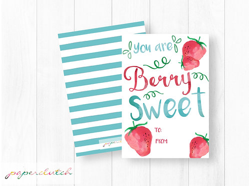 You are Berry Sweet Valentine