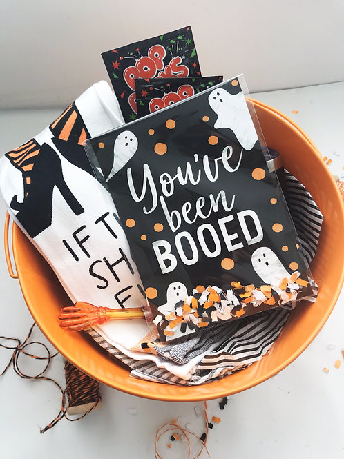 You've Been Booed Halloween Card Kit