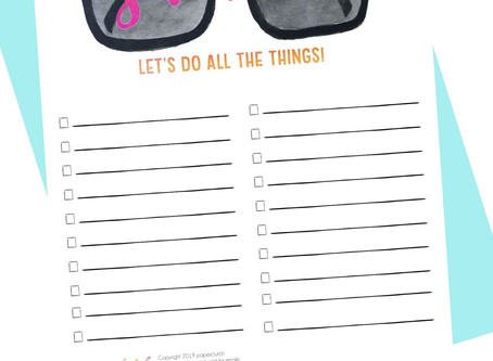 Hello Summer, Hello Summer Bucket List