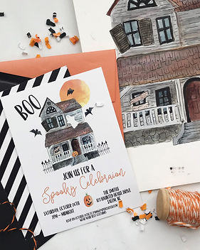 halloween party invitaitons