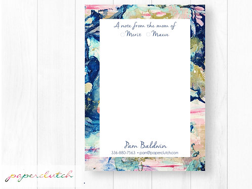Mom Personalized Note Pad