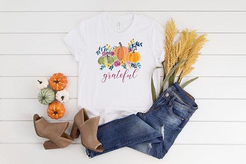 Grateful Shirt for Thanksgiving