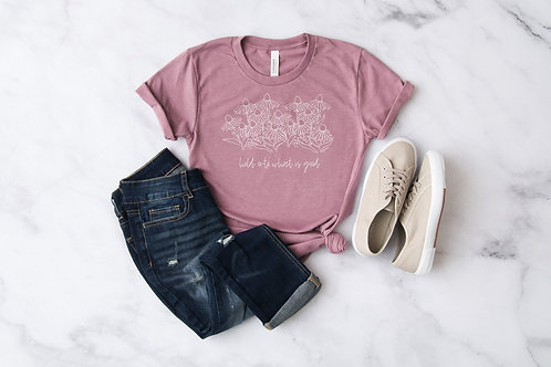 Botanical T Shirt for Women