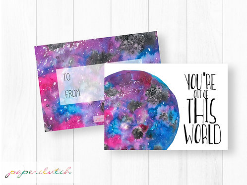Instant Download Out of this World Valentines