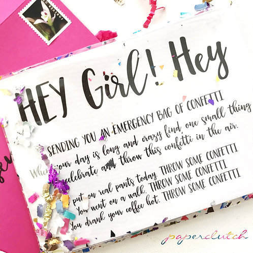DIY Instant Download Happy Mail Card