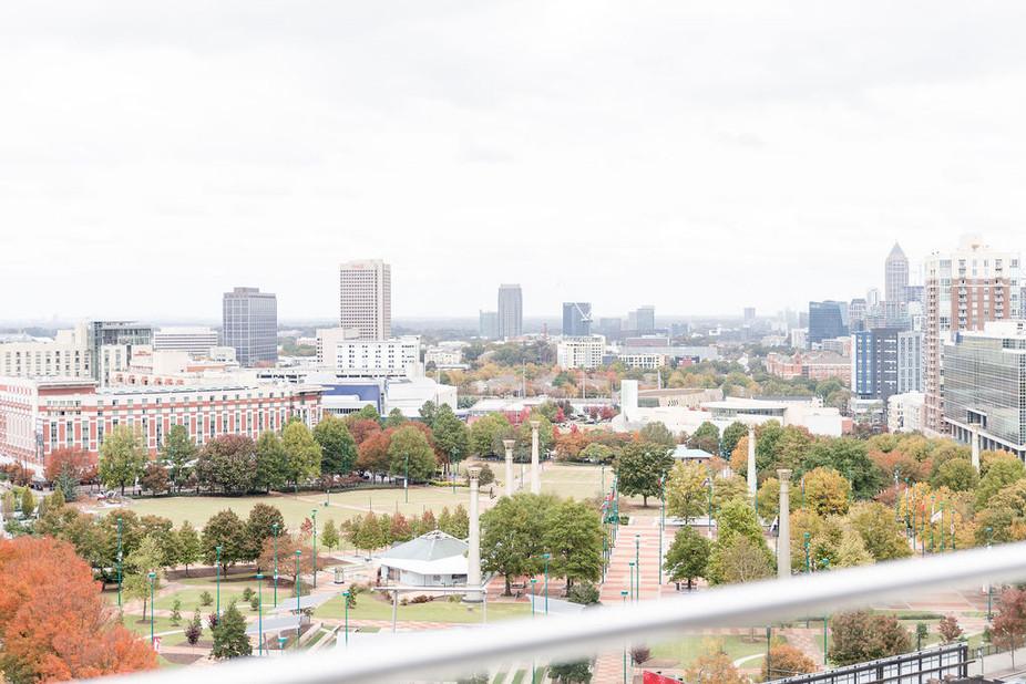 Atlanta Rooftop Proposal | Atlanta Proposal Photographer
