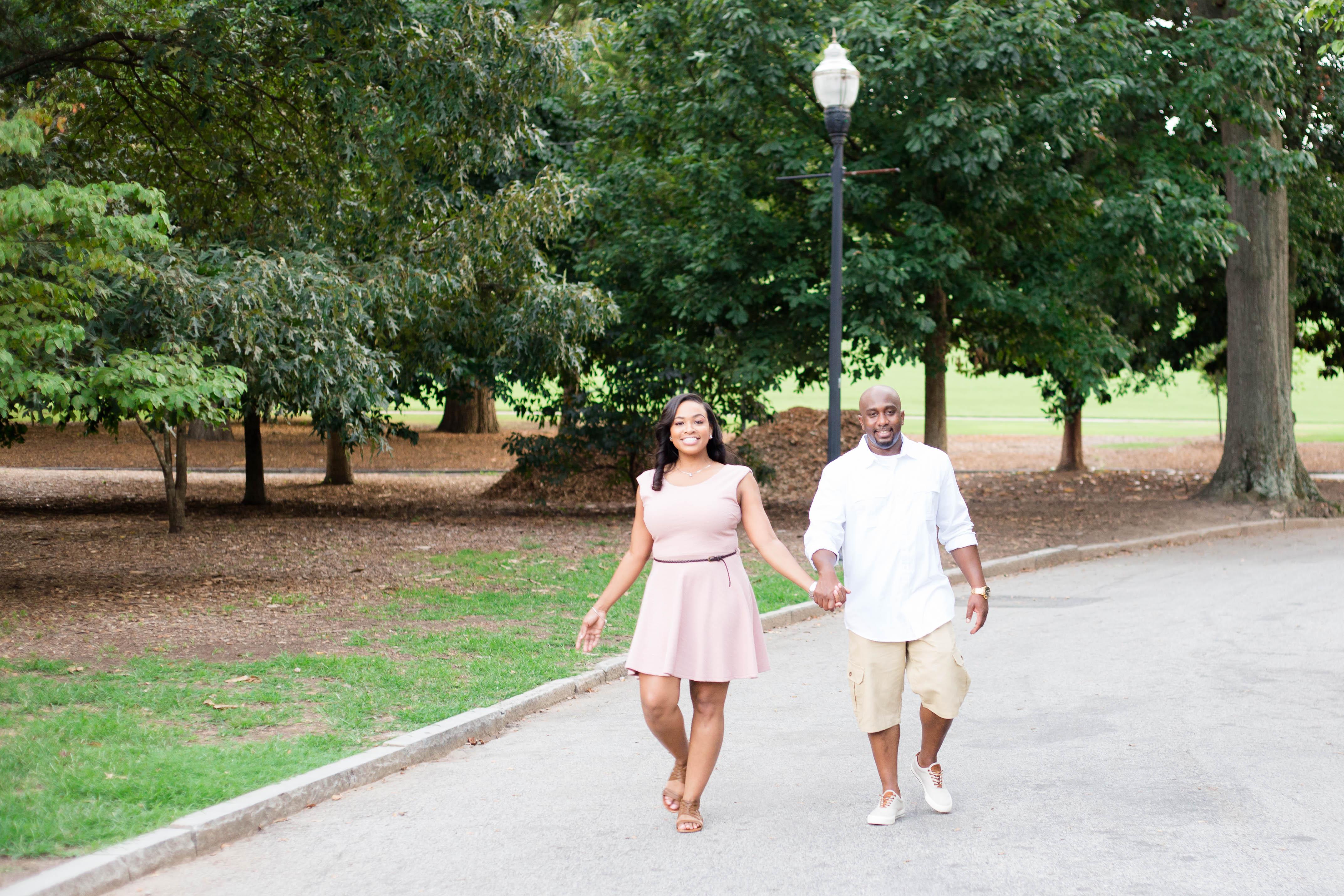 Piedmont Park Engagement