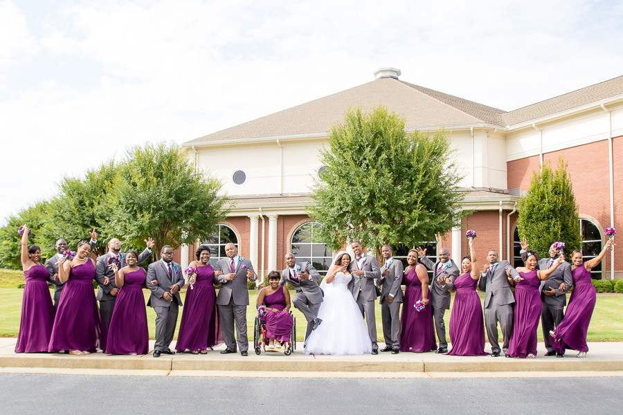 Atlanta Wedding Photographer | Atlanta Wedding Jaquada + Gideon