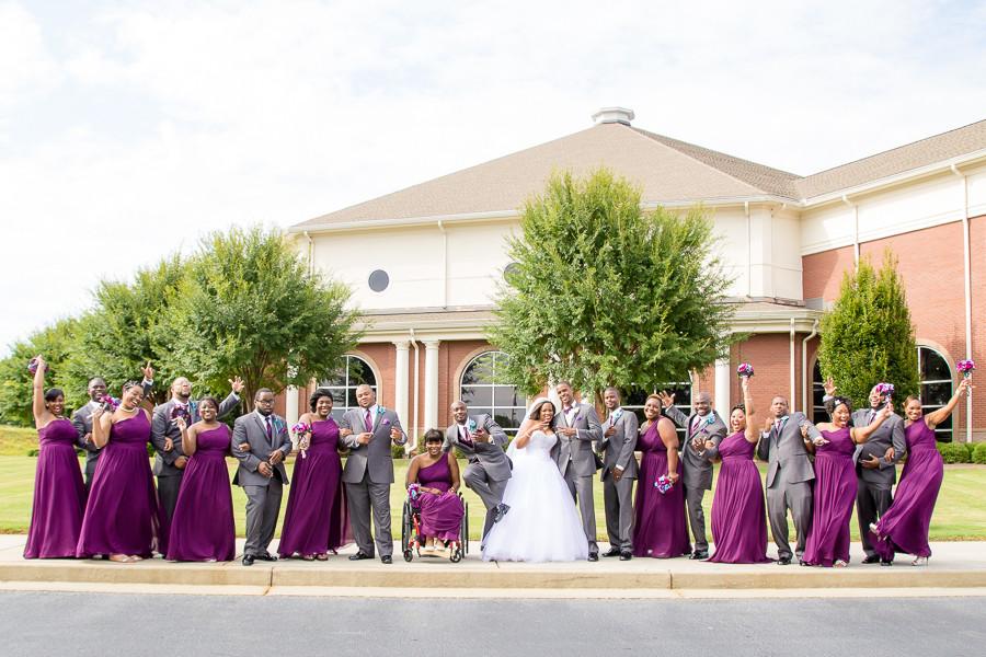 Atlanta Wedding Photographer   Atlanta Wedding Jaquada + Gideon